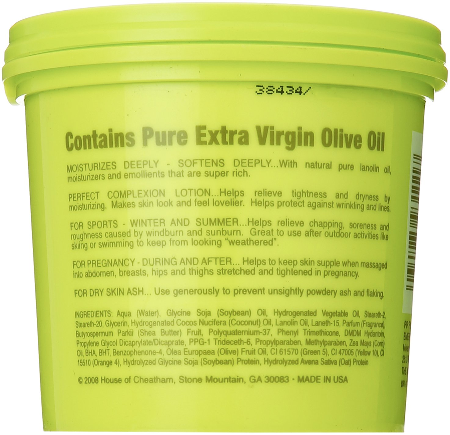 Amazon.com : Red Fox Tub O Butter Olive Oil, 11.5 Ounce : Body Oils : Beauty