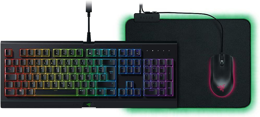 Razer Holiday Bundle Tastatur Maus Mauspad Computer Zubehör