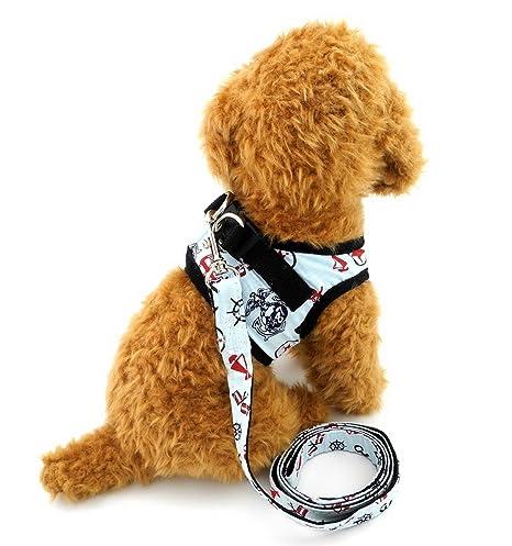 ranphy pequeño perro control Arnés para hembra macho perro arnés ...