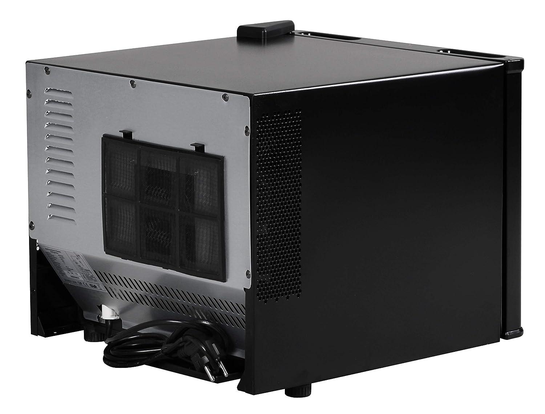 Mini Kühlschrank Mit Sichtfenster : Finebuy mini kühlschrank 17 liter minibar weiß getränkekühlschrank 5