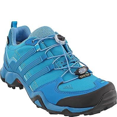 Terrex Swift R Gtx W Mystery Petrol/Mystery Petrol/Vapour Blue Women's Hiking Shoes - 8 B(M) US