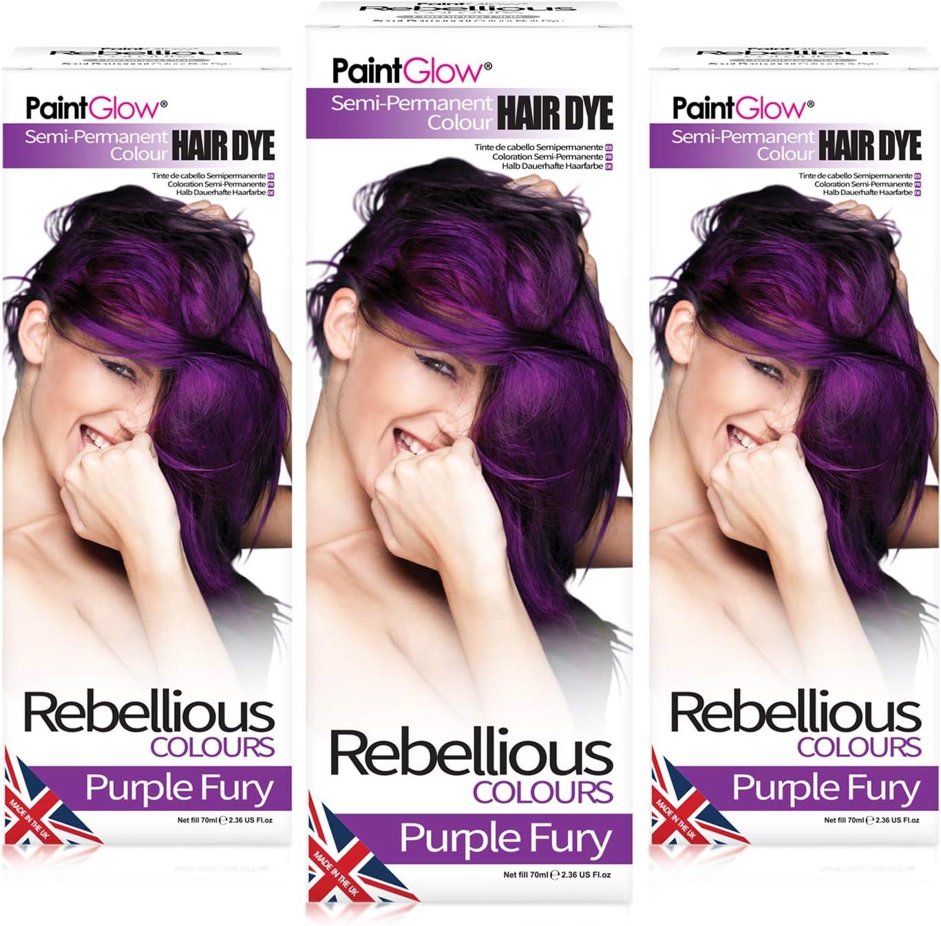 Tinte de pelo semipermanente Rebellious Colours 100% vegano ...