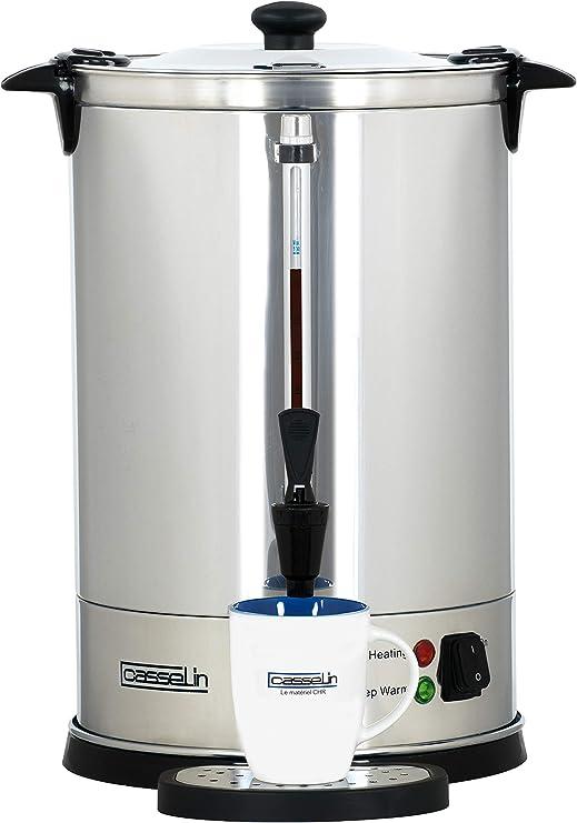 Casselin CPC100 cafetera eléctrica - calentadores de agua (Negro ...