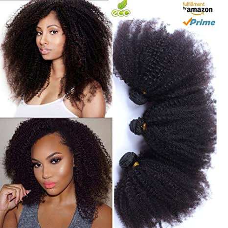 Morningsilkwig Afro Kinky Frisées-Curly Perruques