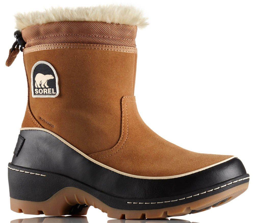 SOREL Tivoli III Pull-On Boot - Women's Elk/Black, 8.0 by SOREL (Image #1)