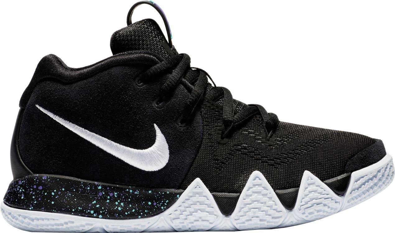 on sale 1d8d7 91574 Amazon.com   Nike Kids  Preschool Kyrie 4 Basketball Shoes (Black White,  11K)   Sports   Outdoors