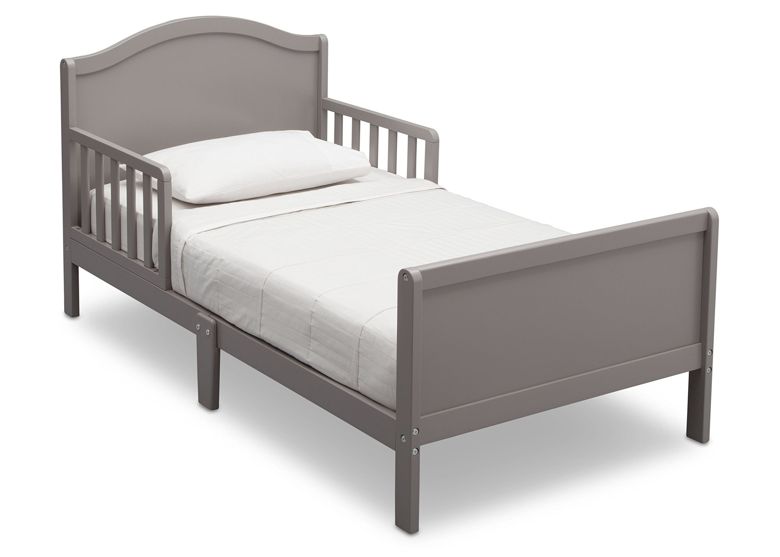 Delta Children Bennett Toddler Bed, Grey by Delta Children