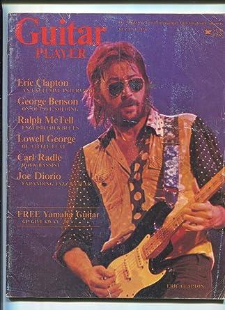 AUG 1976 GUITAR PLAYER music magazine ERIC CLAPTON