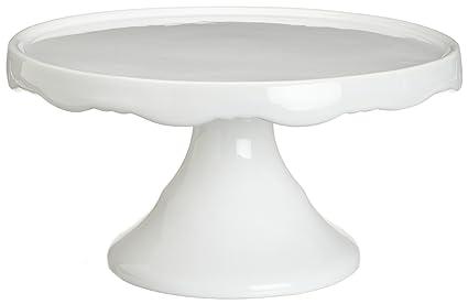 Rosanna Medium 10-1/2-Inch Pedestal White  sc 1 st  Amazon.com & Amazon.com   Rosanna Medium 10-1/2-Inch Pedestal White: Cake Plates ...