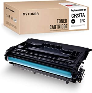 MYTONER Compatible Toner Cartridge Replacement for HP 37A CF237A for Laserjet Enterprise M607 M607n M607dn M608 M608n M608dn M608x M609 M609dn, MFP M631 M632 M633 (Black,1-Pack)