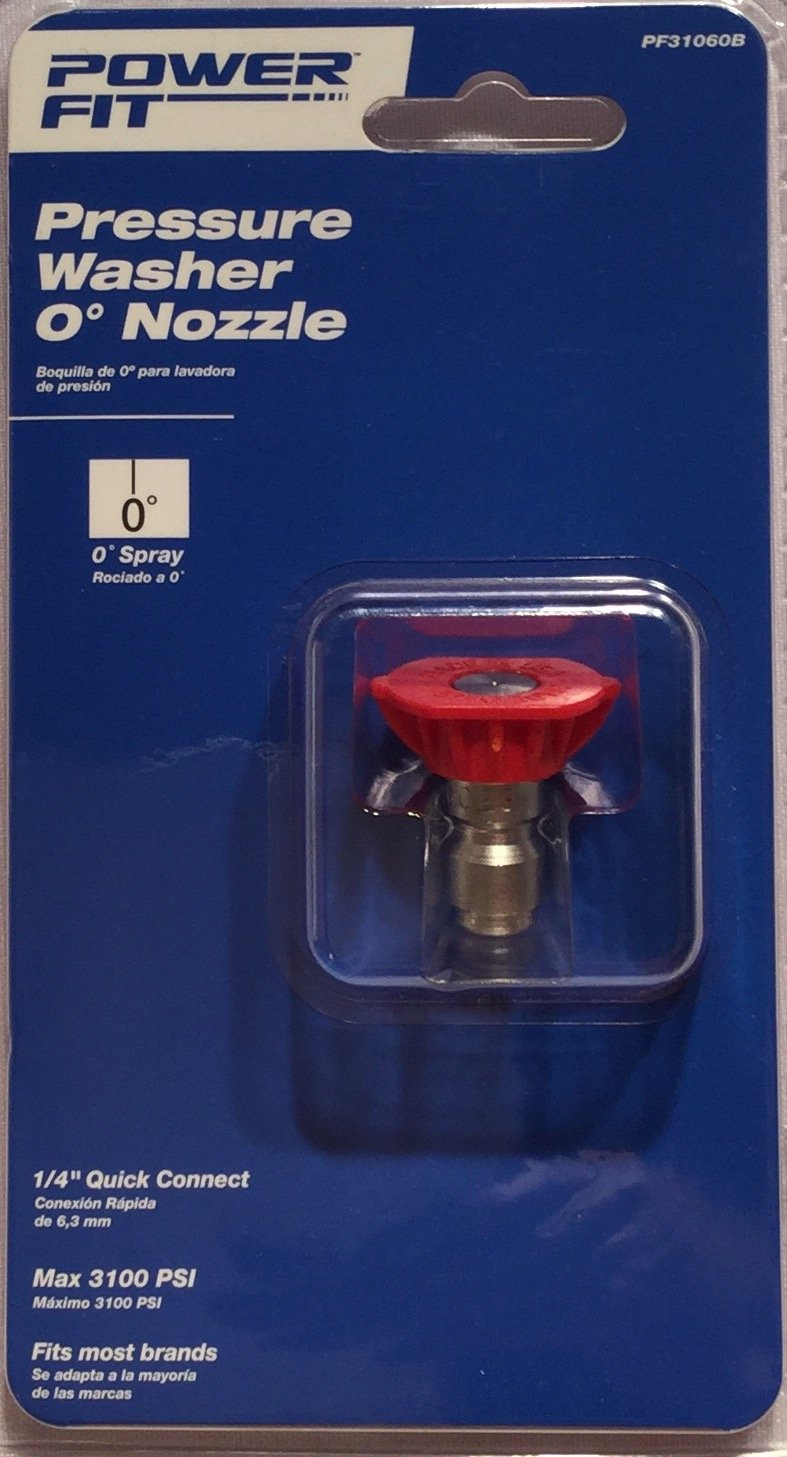 Power Fit Pressure Washer 0 Degree Nozzle