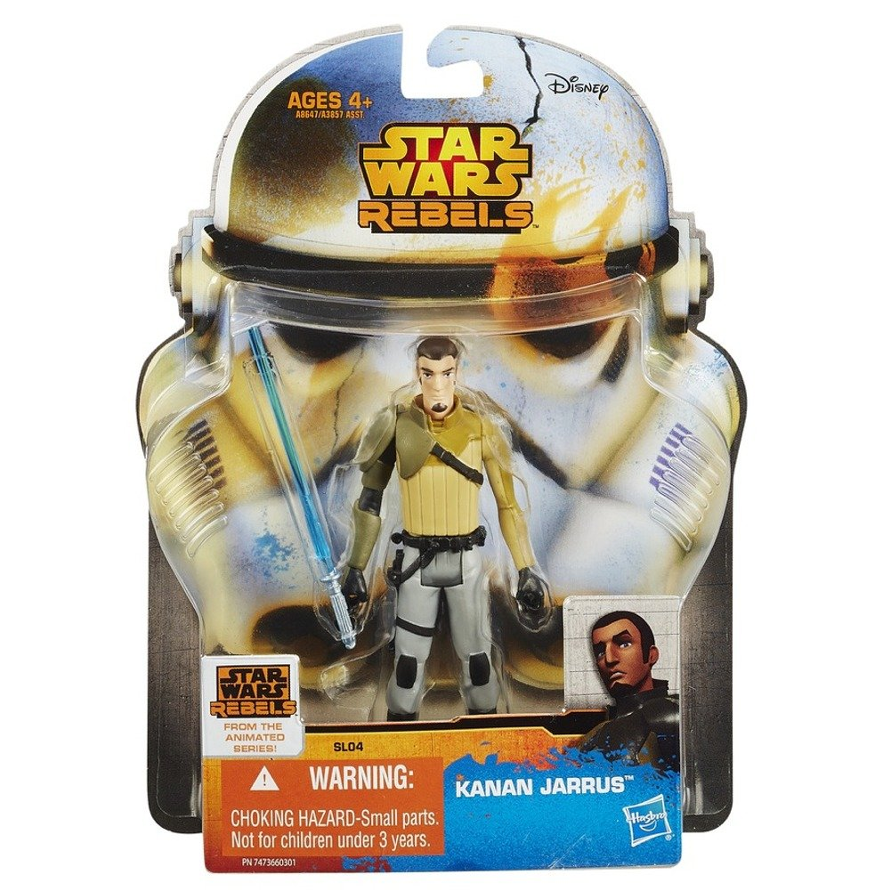 Star Wars Rebels Saga Legends Kanan Jarrus Action Figure Hasbro A8647079