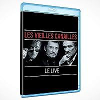 LES VIEILLES CANAILLES - L'ALBUM LIVE  (BLU RAY)