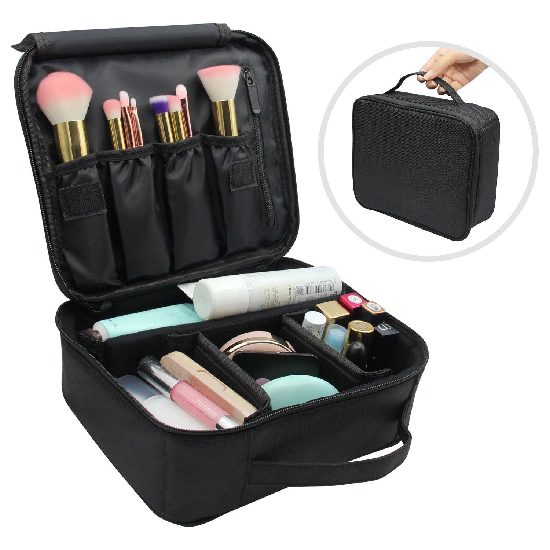 Malette Maquillage,Trousse de Maquillage,Pochette de Maquillage Portative de Compartiments ...