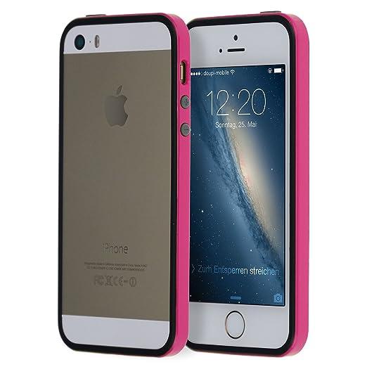 107 opinioni per doupi® SuperSlim TPU Bumper quadro della protezione Case per iPhone 5 5S SE