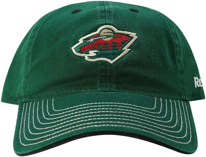 NHL Reebok Minnesota Wild adultos One-fit ajustable Gorra Sombrero Verde: Amazon.es: Ropa y accesorios