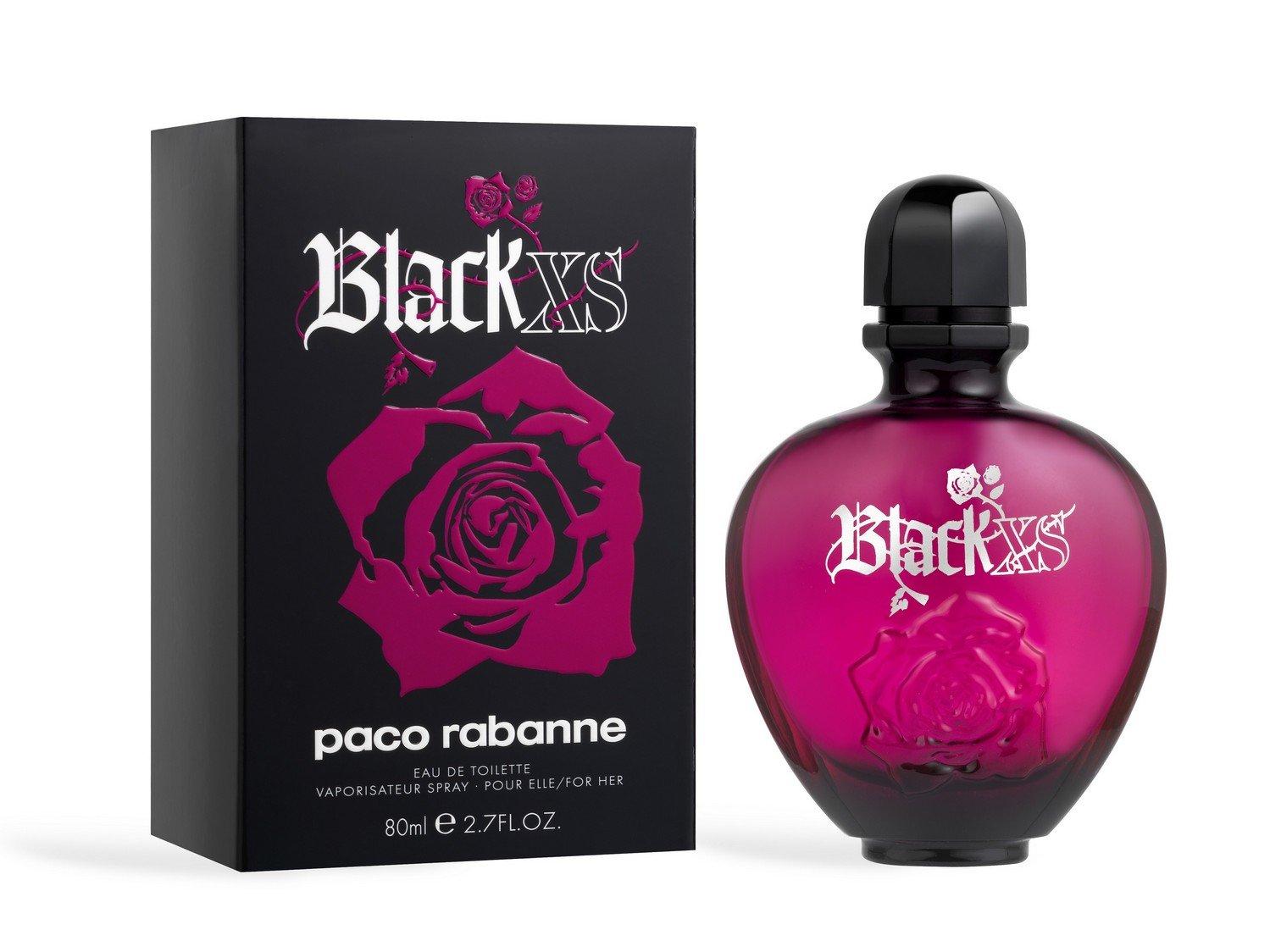 Perfume Feminino Paco Rabanne Black Xs 80ml Edt