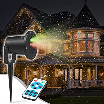 Outdoor Laser Holiday Lights Amazon christmas laser lights innoolight outdoor starry christmas laser lights innoolight outdoor starry christmas laser lights red and green laser christmas workwithnaturefo