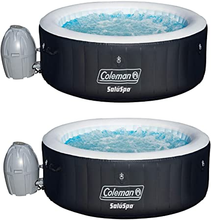 Amazon Com Coleman Saluspa 4 Person Portable Inflatable Outdoor