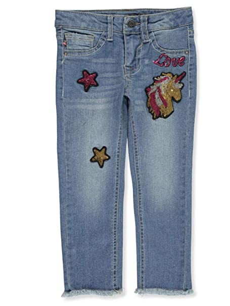 Amazon.com: VIGOSS - Pantalones vaqueros ajustados para niña ...