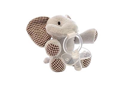 Chupete de peluche Peluches Eli – Exclusivo chupetes para bebés recién nacidos o dentición Bebés –