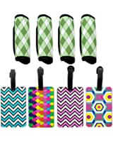 Luggage Handle Wraps and Luggage Tags