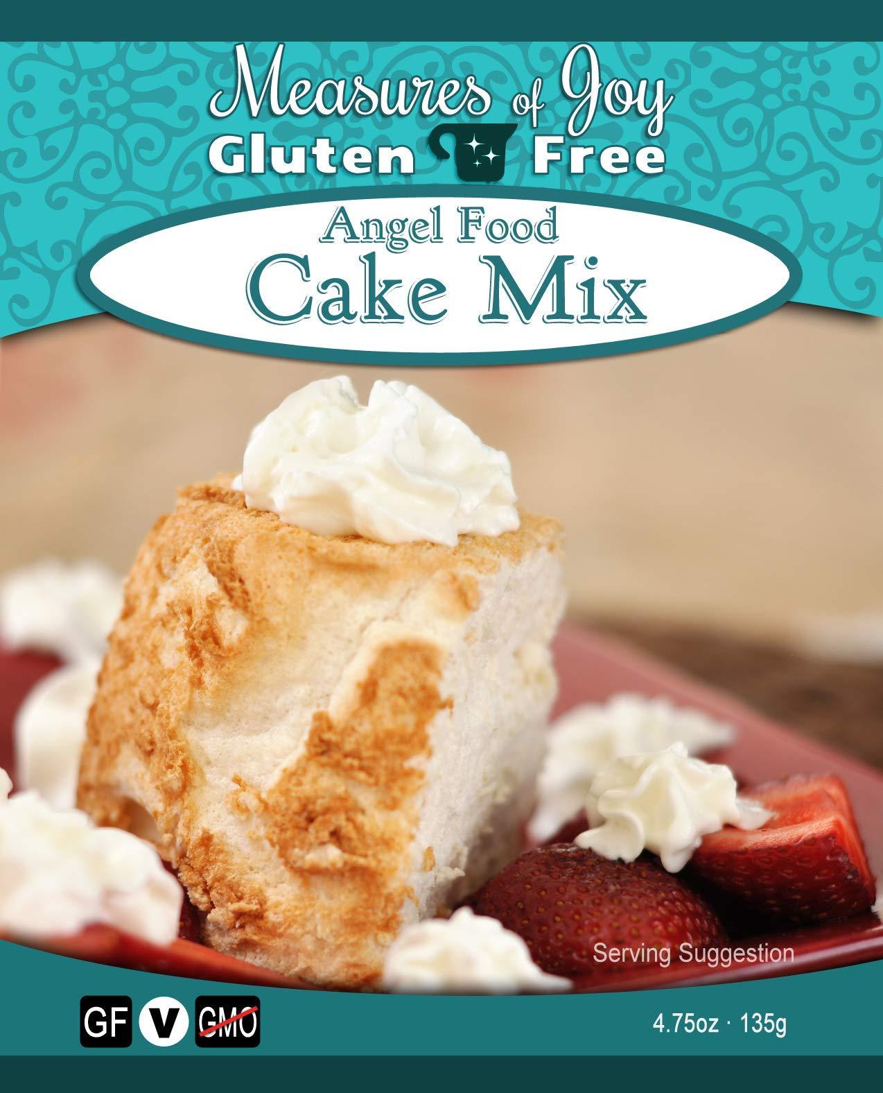 Measures of Joy Gluten Free Angel Food Cake Mix by Measures of Joy