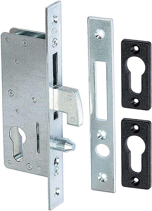 Gancho Candado Cerradura Puerta Corredera puertas correderas (50 con contraplaca: Amazon.es: Bricolaje y herramientas