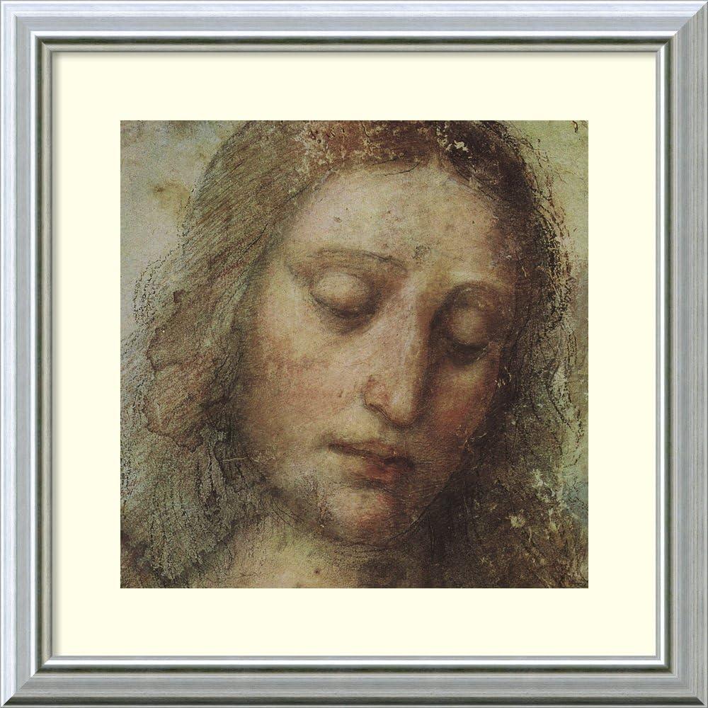 STUDY DA VINCI MONA LISA DETAIL Painting Portrait Canvas art Prints