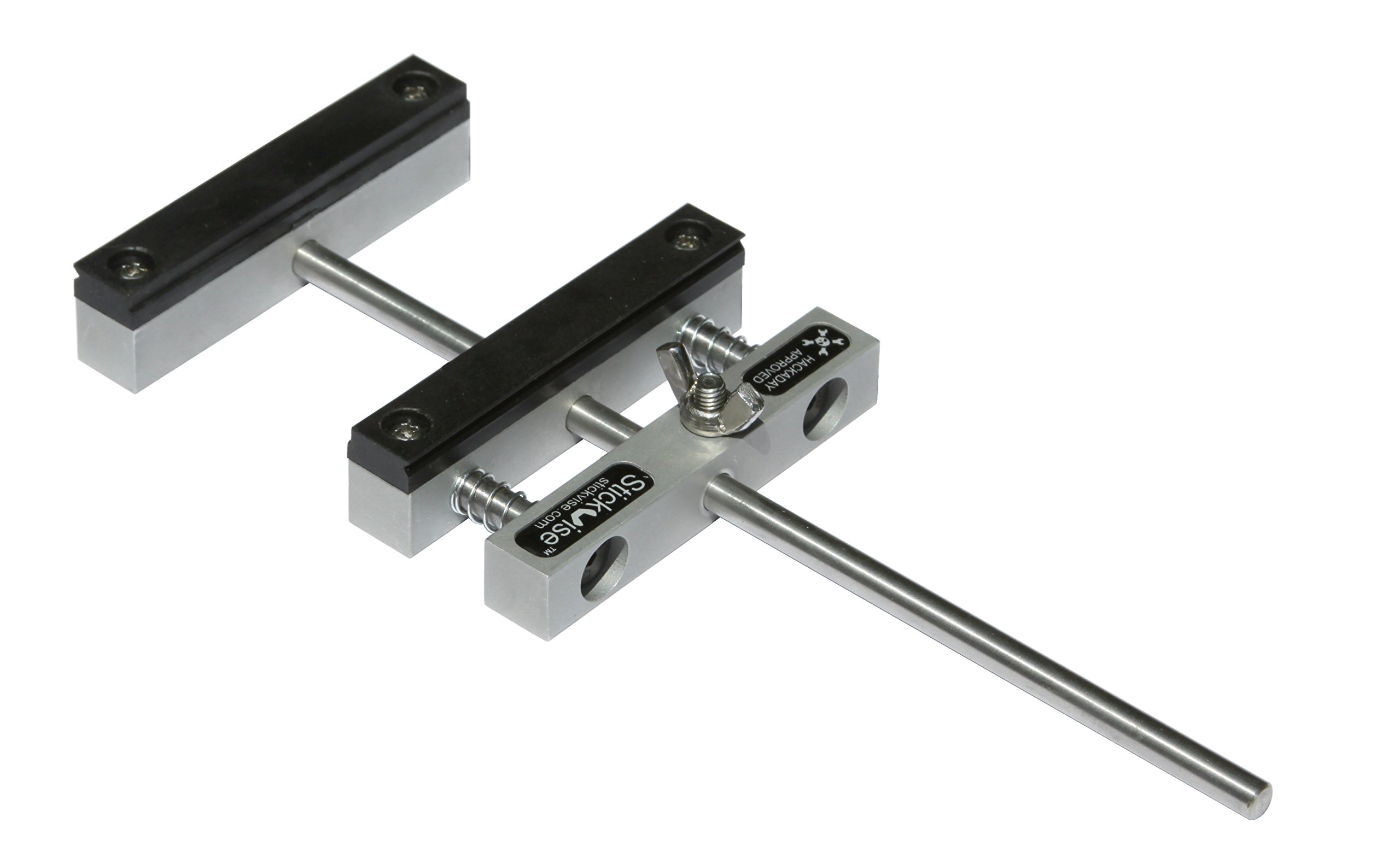 Stickvise PCB Vise with Standard Nylon Jaws by Stickvise