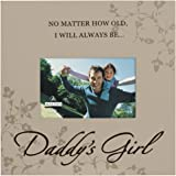 Malden International Designs Daddy's Girl Storyboard Wood Picture Frame, 4x6, Brown