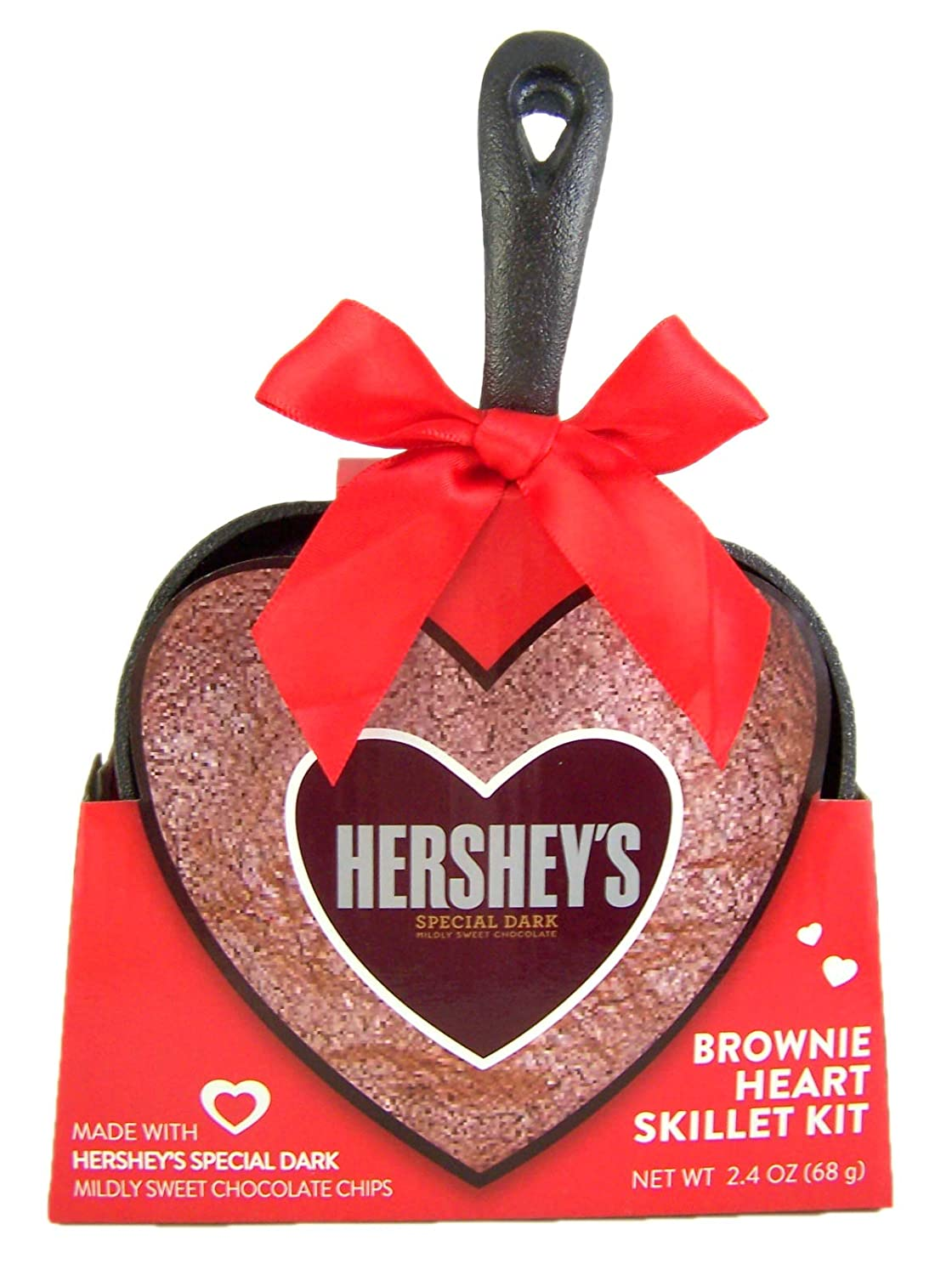 Heart shaped cast iron brownie pan from Hershey's.