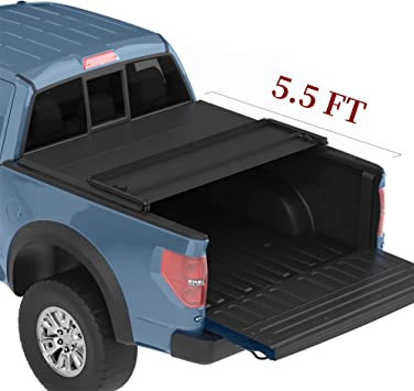 Amazon Com Yitamotor Truck Bed Tonneau Cover Compatible With 2015 2020 Ford F 150 Truck Bed 5 5ft Automotive