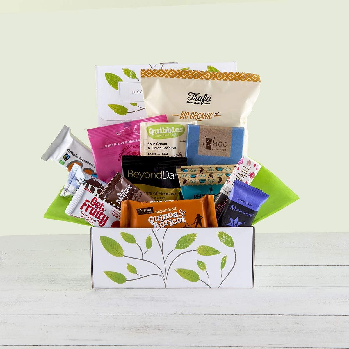 Vegan Chocolate & Snack Hamper Gift Box