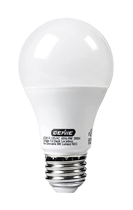 Genie LED Garage Door Opener Light Bulb   60 Watt (800 Lumens)   Made Awesome Ideas
