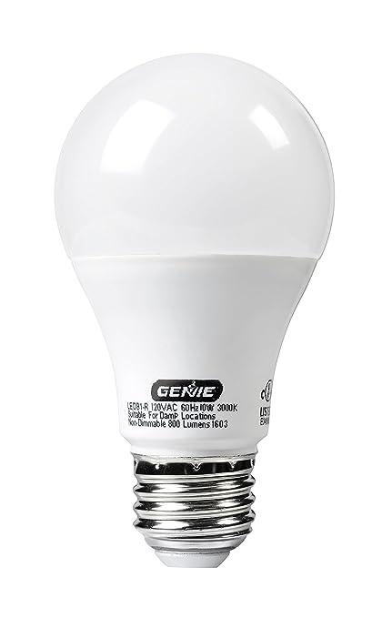 Genie LED Garage Door Opener Light Bulb   60 Watt (800 Lumens)   Made
