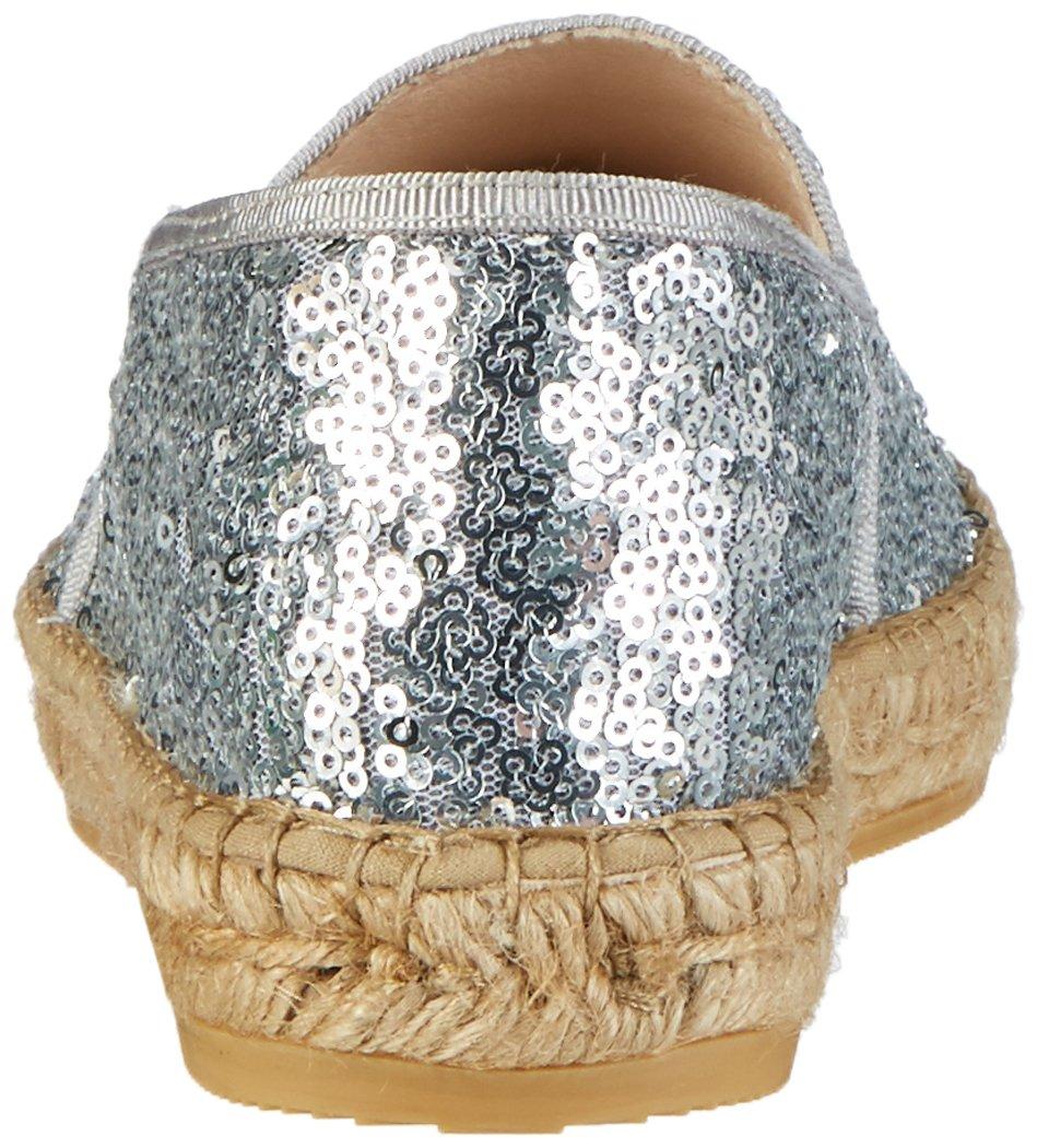 Macarena Damen (Plata/Plata) Lux-Teide Metal Espadrilles Silber (Plata/Plata) Damen 0f97fa