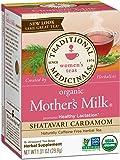 Traditional Medicinals Organic Mother's Milk Shatavari Cardamom Tea, 16 Tea Bags (Pack of 6)