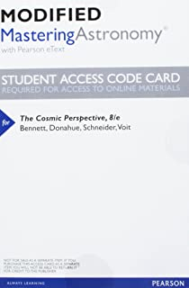 The cosmic perspective 8th edition jeffrey o bennett megan o modified masteringastronomy with pearson etext valuepack access card for the cosmic perspective fandeluxe Image collections