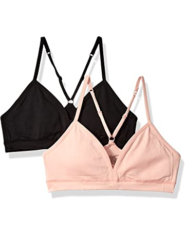 45719e129f Hanes Girls  Big Comfort Flex Fit Seamless on The Go Racerback Bra 2-Pack