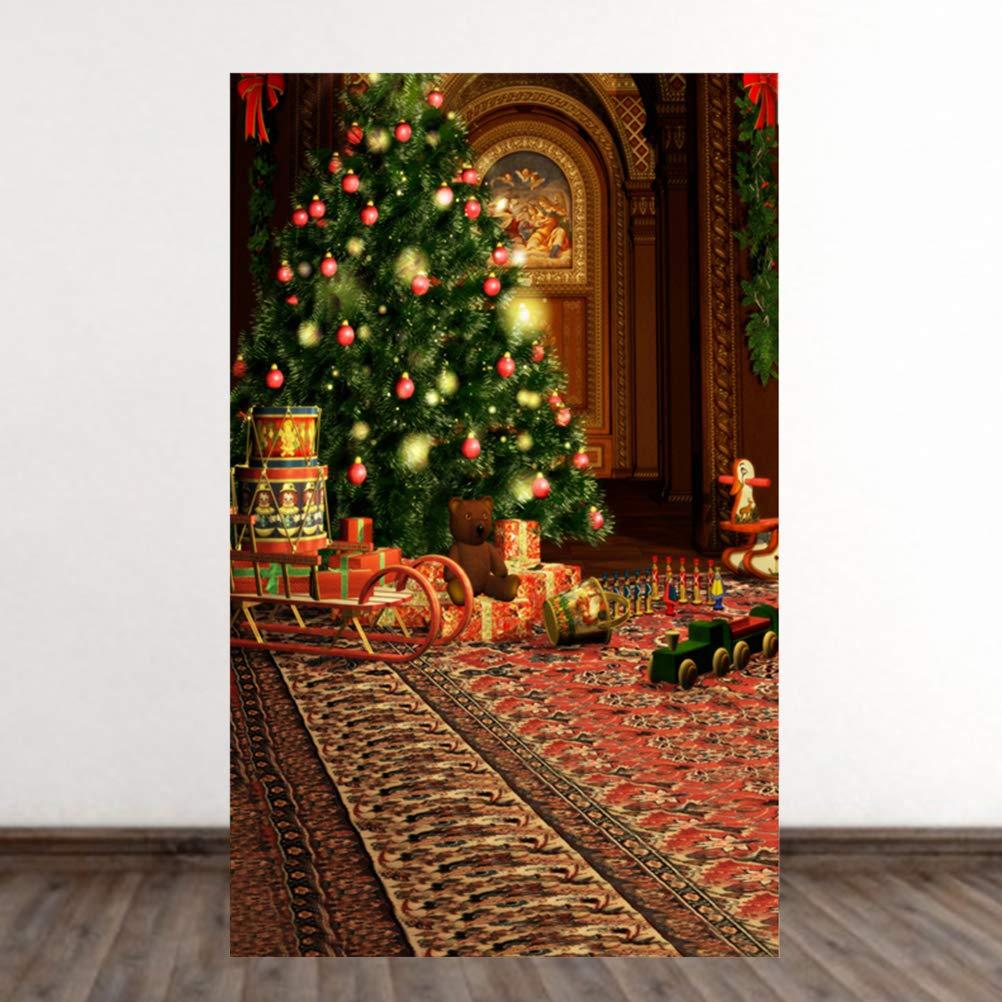 Uonlytech Weihnachten Foto Hintergrund Wand Hintergrund Studio ...