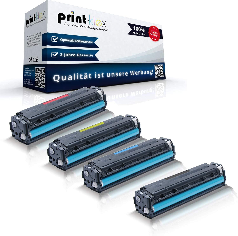 4x Print Klex Xxl Toner Kompatibel Für Hp Laserjet Cp1525 Laser Jet Cp1525n Cp1525nw Cp1526nw Laserjet Pro Cm1410series Cm1411fn Hp128a Sparset Alle 4 Farben Bürobedarf Schreibwaren