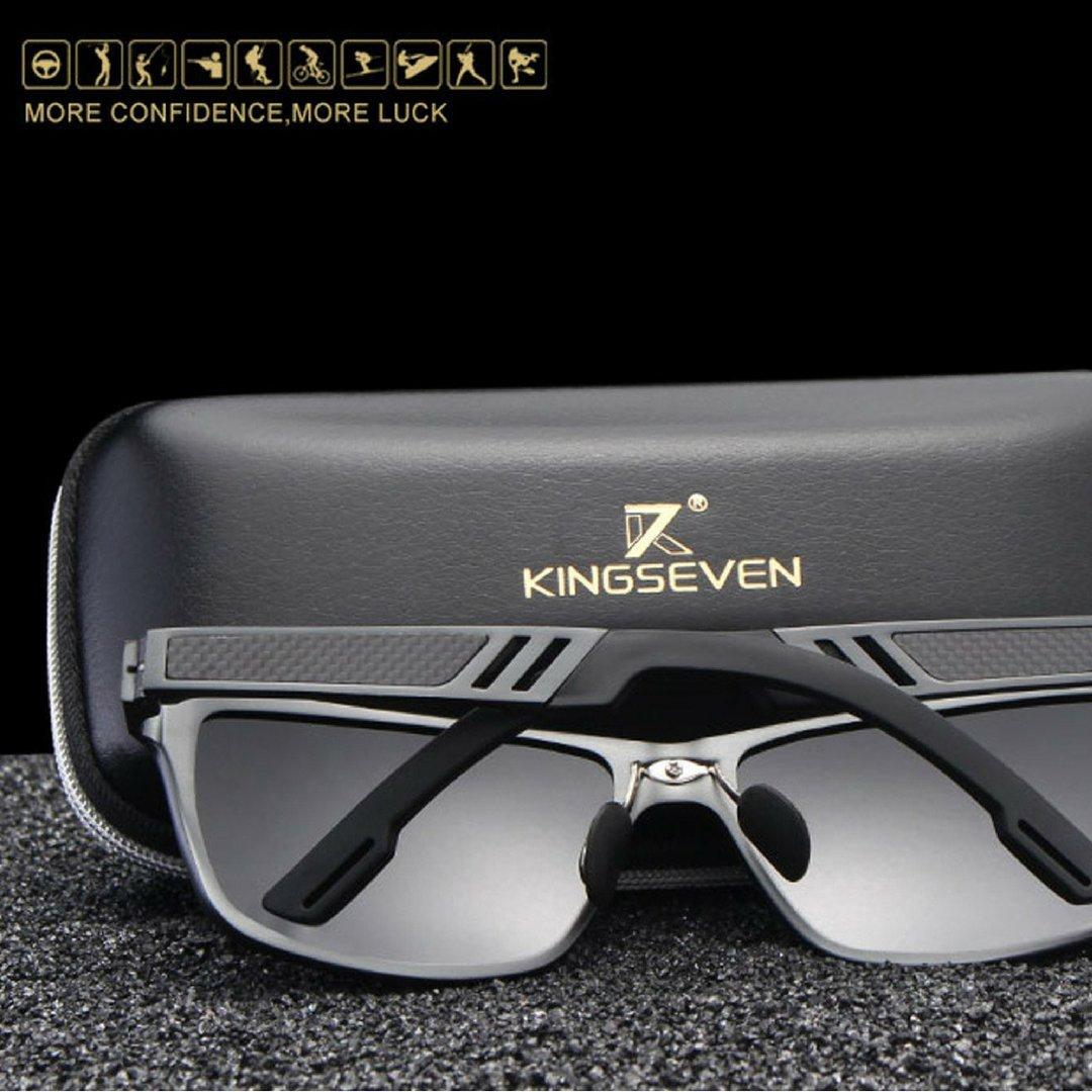 Carbon Aluminium Wayfarer Premium Sonnenbrille Set UV400, Polarisiert, Photochromatisch