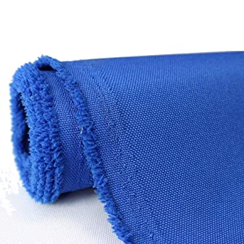 Waterproof Canvas Fabric Outdoor 600 Denier Indoor/Outdoor Fabric by The  Yard PU Backing UV Protector Canvas Marine Awninig Fabric Royal Blue (5