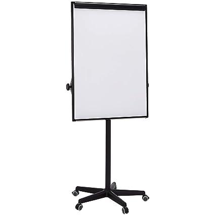 Amazonbasics Dry Erase Mobile Presentation White Board Easel Non Magnetic Black