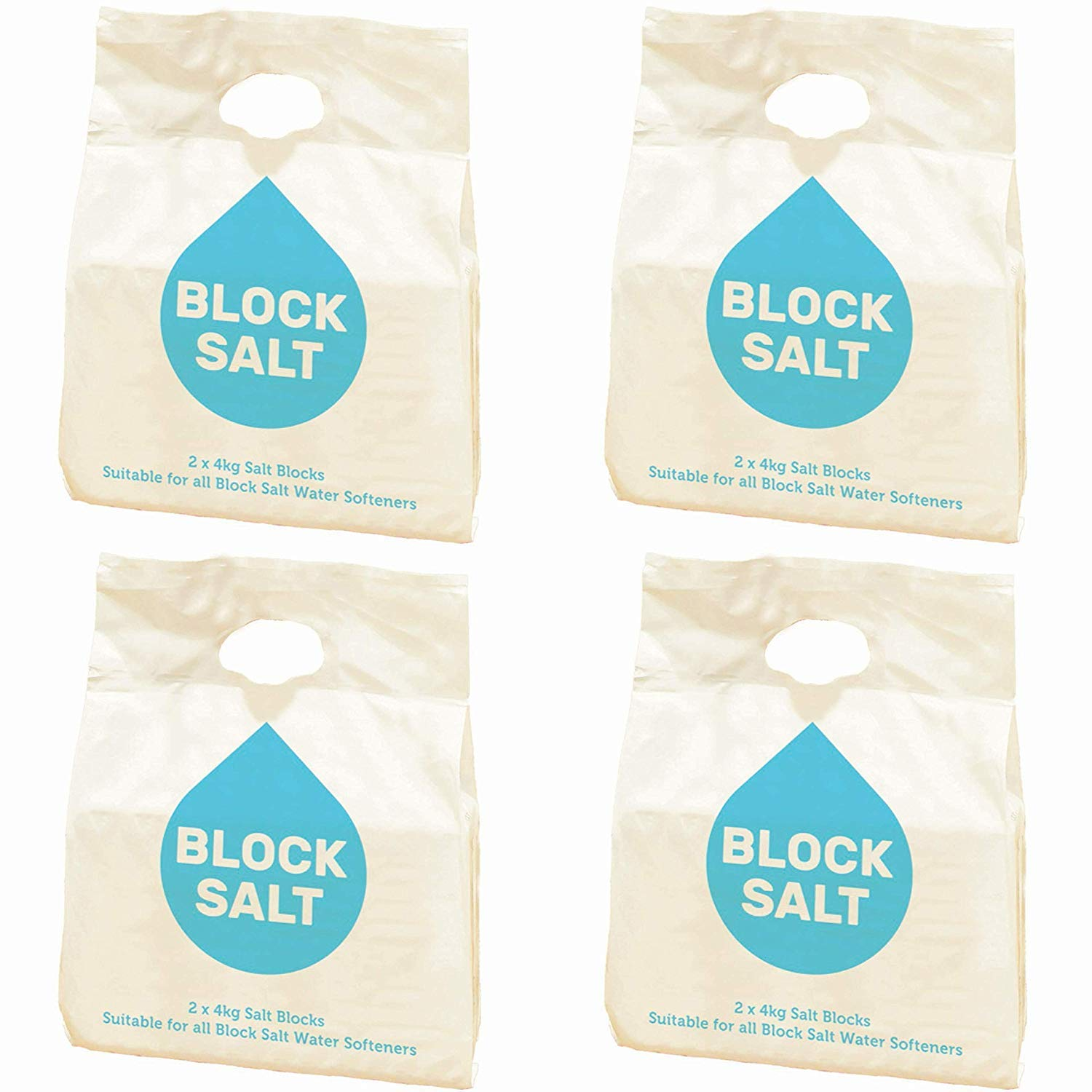 4 Packs = 8 Block's Haveys Water Softeners Block Salt Limited Stock 12 Packs = 24 Block's