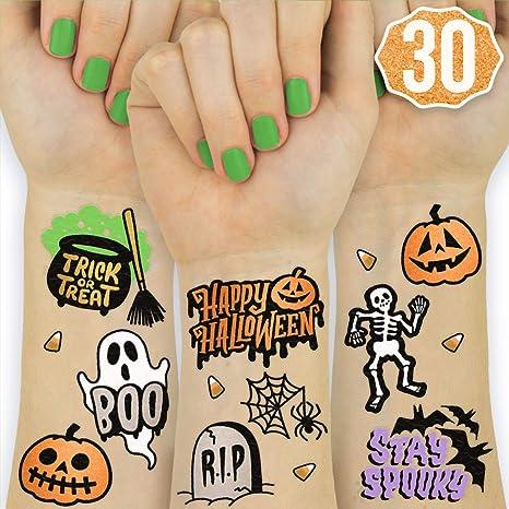 Xo, Fetti Tatuajes de Halloween para niños – 30 estilos | Happy ...
