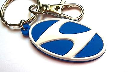Freeco Hyundai Llavero (Hyundai): Amazon.es: Coche y moto