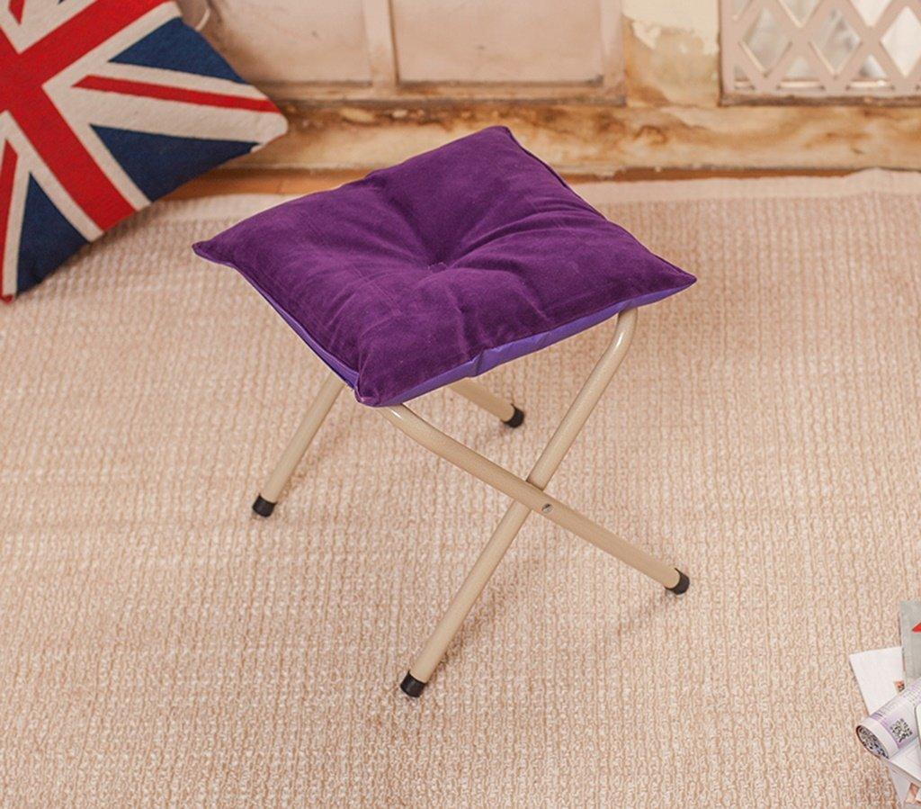 Lazy sofa LI Jing Shop - Mobili Sgabello Basso del poggiapiedi (colore   Viola Scuro)