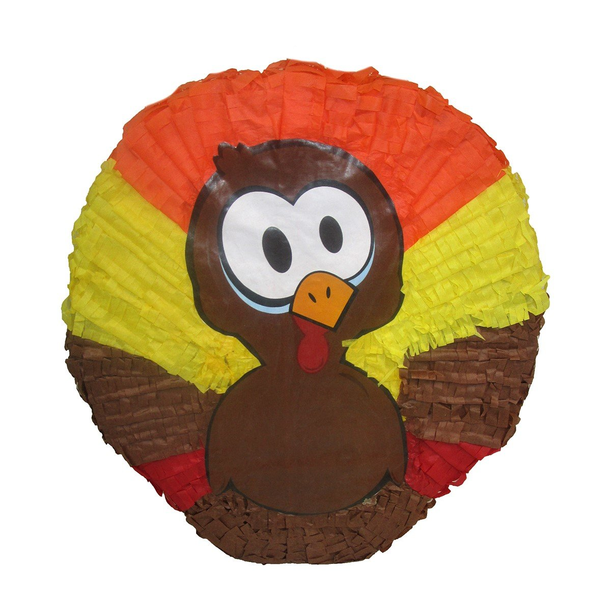 Pinatas Thanksgiving Turkey, Party Game, Centerpiece Decoration and Photo Prop by Pinatas